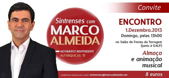 Encontro Sintrenses com Marco almeida - 1º Aniversário