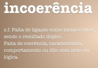 incoerencia
